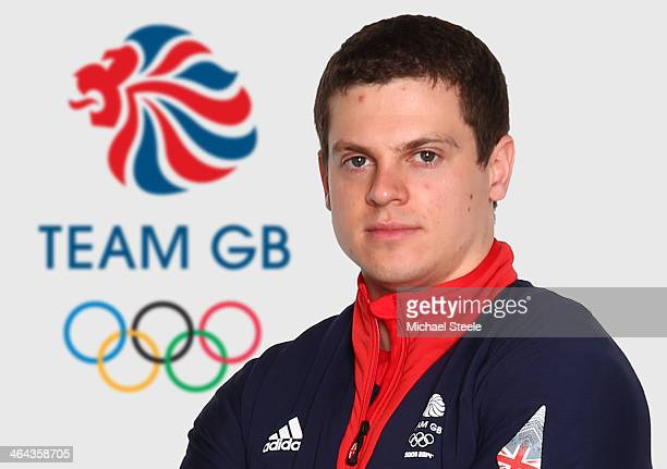 Craig Pickering of Team GB Bobsleigh poses at the Team GB Kitting Out ahead of Sochi Winter Olympics on January 21 2014 in Stockport England