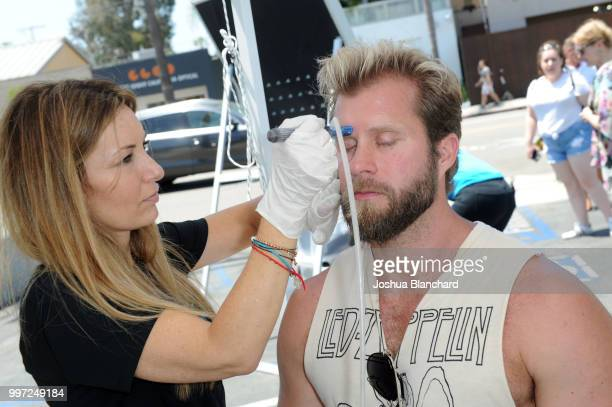 Craig Ramsay attends the HydraFacial World Tour Los Angeles on July 12 2018 in Venice California