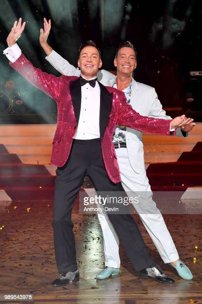 Craig Revel Horwood unveils his brandnew wax figure at madame Tussauds Blackpool on July 2 2018 in Blackpool England