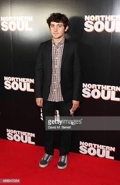 Craig Roberts attends a Gala Screening of 'Northern Soul' at the Curzon Soho on October 2 2014 in London England
