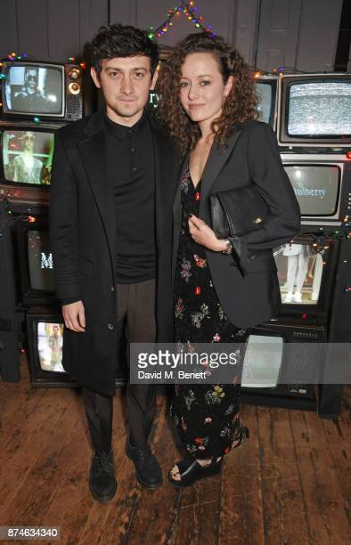 Craig Roberts attends Mulberry's 'It's Not Quite Christmas' party on November 15 2017 in London England