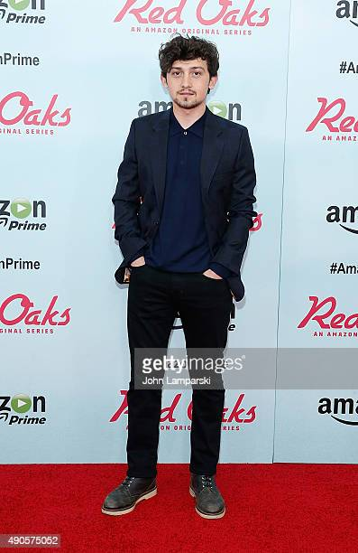 Craig Roberts attends 'Red Oaks' series premiere at Ziegfeld Theater on September 29 2015 in New York City