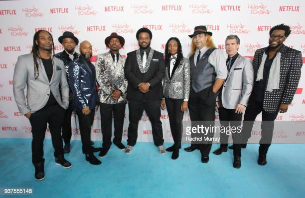Craig Robinson and The Nasty Delicious attend Seth Rogen's Hilarity For Charity at Hollywood Palladium on March 24 2018 in Los Angeles California
