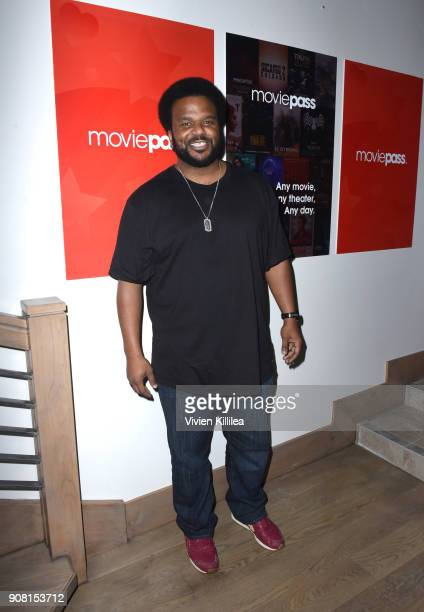 Craig Robinson attends 'An Evening with Beverly Luff Linn' Dinner presented by MoviePass on January 20 2018 in Park City Utah