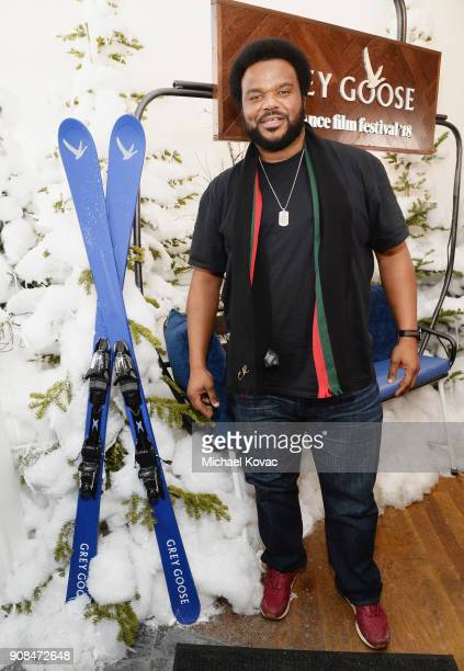 Craig Robinson attends as Grey Goose Blue Door hosts the casts of gamechanging films during the Sundance Film Festival at The Grey Goose Blue Door on...