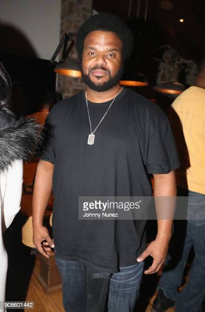 Craig Robinson attends as The House of Remy Martin celebrates the APEX Social Club at the WanderLuxxe House with Common and Friends on January 21...