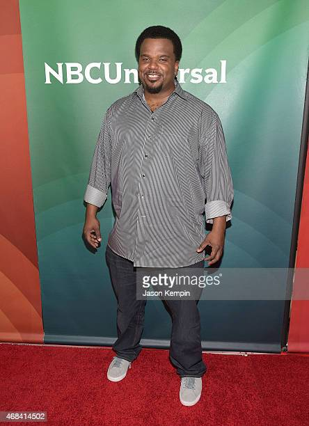 Craig Robinson attends the 2015 NBCUniversal Summer Press Day at the Langham Hotel on April 2 2015 in Pasadena California