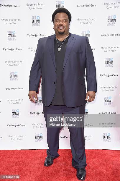 Craig Robinson attends the 26th Annual Gotham Independent Film Awards at Cipriani Wall Street on November 28 2016 in New York City