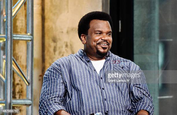 Craig Robinson attends the AOL Build Speaker Series at AOL Studios In New York on August 4 2015 in New York City