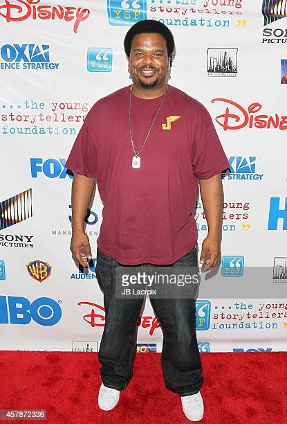 Craig Robinson attends the Young Storytellers Foundation's 'The Biggest Show' at New Roads on October 25 2014 in Santa Monica California
