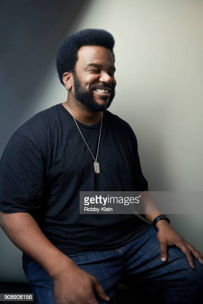 Craig Robinson from the film 'An Evening with Beverly Luff Linn' poses for a portrait at the YouTube x Getty Images Portrait Studio at 2018 Sundance...