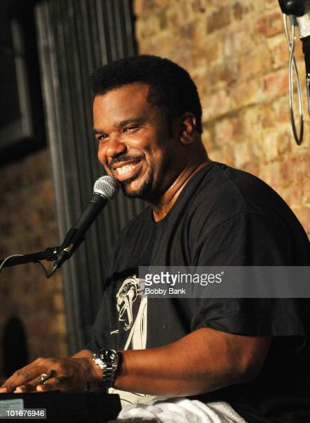 Craig Robinson performs at The Stress Factory Comedy Club on June 6, 2010 in New Brunswick, New Jersey.