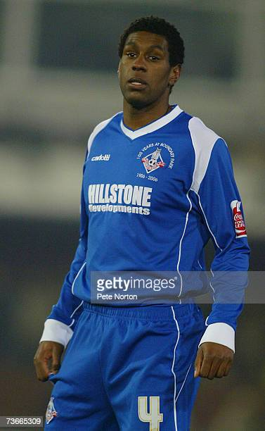Craig Rocastle of Oldham Athletic looks on during the Coca Cola League One match between Oldham Athletic and Northampton Town at Boundary Park on...