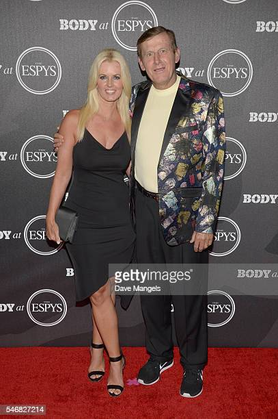 Craig Sager and Stacy Sager attend the BODY At The ESPYs preparty at Avalon Hollywood on July 12 2016 in Los Angeles California