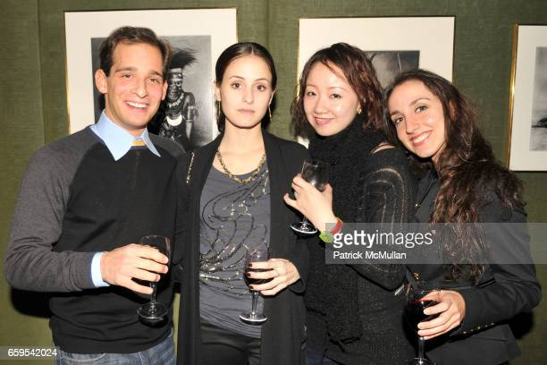Craig Salstein Melanie Hamrick ZhongJing Fang and Nicole Granier attend AMERICAN BALLET THEATRE's JUNIOR COUNCIL Host an Evening at THE FORBES...