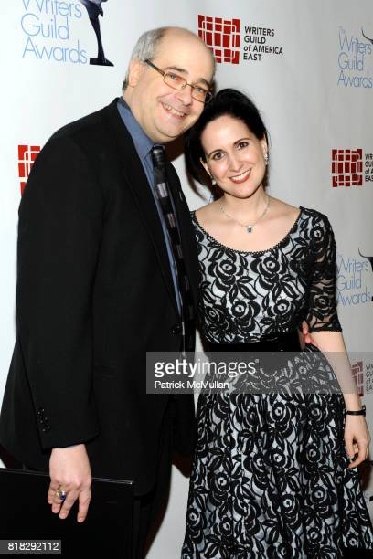 Craig Shemin and Stephanie D'Abruzzo attend THE 62 ANNUAL WRITERS GUILD AWARDS at Hudson Theatre on February 20 2010 in New York City