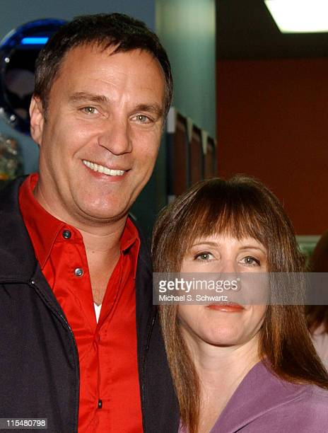 Craig Shoemaker and Laraine Newman during Comedian Craig Shoemaker Hosts the Healing Through Laughter Benefit at The Laughter Store in Sherman Oaks...