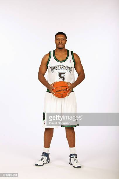 Craig Smith of the Minnesota Timberwolves poses for a portrait during Media Day at the Target Center on October 2 2006 in Minneapolis Minnesota...