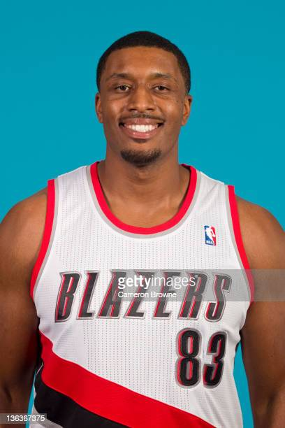 Craig Smith of the Portland Trail Blazers poses for a portrait during Media Day on December 16 2011 at the Rose Garden Arena in Portland Oregon NOTE...