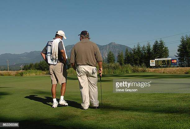 Craig Stadler in action during the second round of the 2005 Boeing Greater Seattle Classic at TPC at Snoqualmie Ridge in Snoqualmie, Washington...