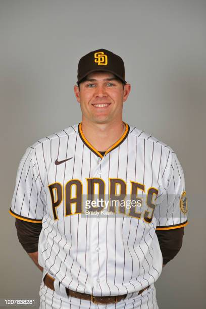 Craig Stammen of the San Diego Padres poses for a photo during Photo Day at Peoria Sports Complex on February 20, 2020 in Peoria, Arizona.