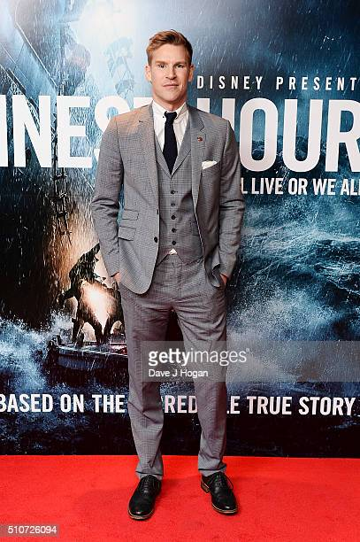 Craig Stevens attends 'The Finest Hours' Gala Premiere at Ham Yard Hotel on February 16 2016 in London England