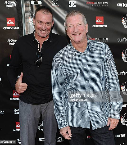 Craig Stevenson and Bob McKnight attend Julian Wilson Scratching The Surface Movie Premiere at Orange County Performing Arts Center on August 6 2010...