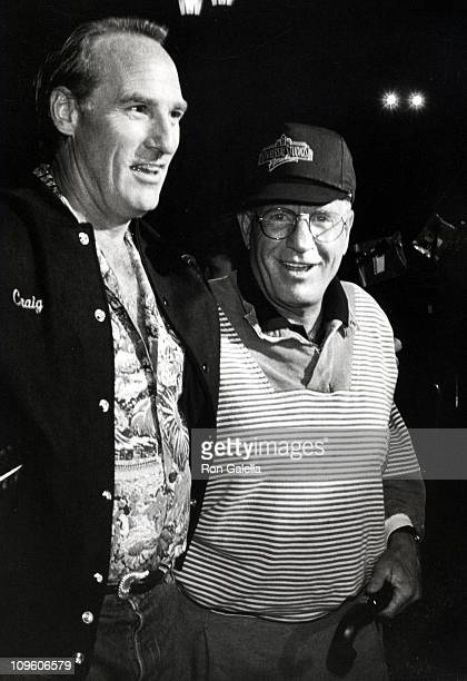 Craig T. Nelson and Jerry Van Dyke during Universal Studios Private Party at the Grand Cypress Resort - June 6, 1990 at Grand Cyprus Resort in...