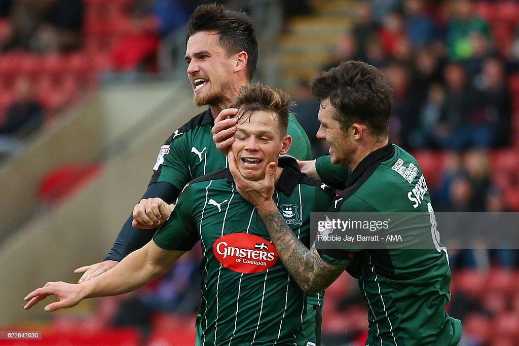 Crewe Alexandra v Plymouth Argyle - Sky Bet League Two : News Photo