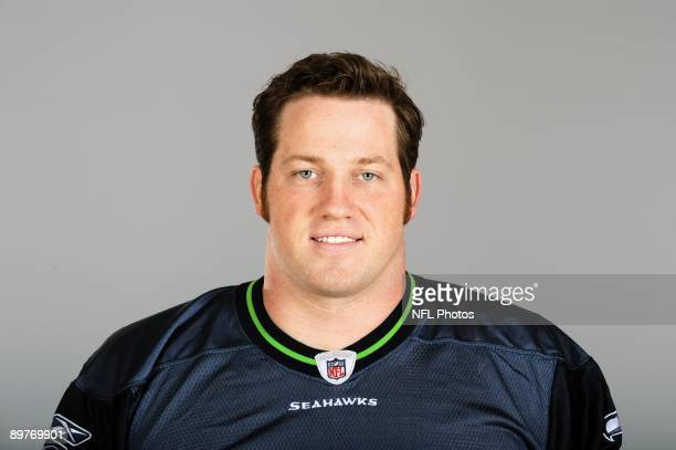 Craig Terrill of the Seattle Seahawks poses for his 2009 NFL headshot at photo day in Seattle Washington