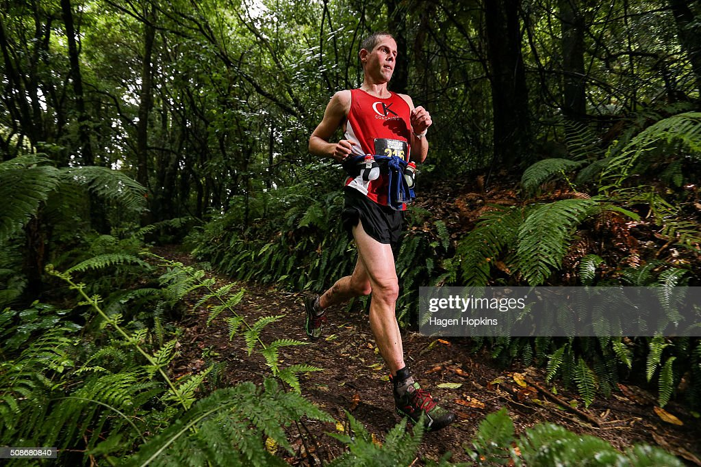 Craig Torr of New Zealand in action during the Tarawera Ultramarathon on February 6, 2016 in Rotorua, New Zealand.
