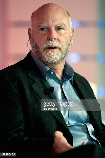 J Craig Venter chief executive officer of Synthetic Genomics Inc speaks at the ECOnomics Creating Environmental Capital conference in Santa Barbara...