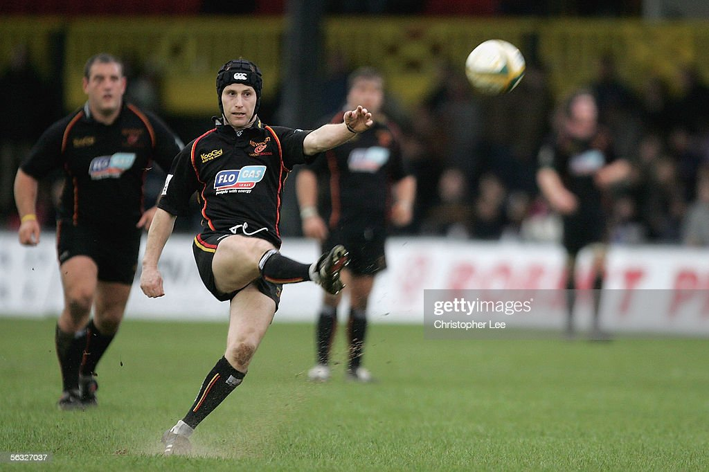 Powergen Cup: Newport Gwent Dragons v Worcester Warriors : News Photo