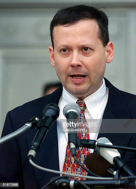 Craig Waters spokesperson for the Florida State Supreme Court announces in Tallahassee 12 December 2000 that the State's Supreme Court rejected a...