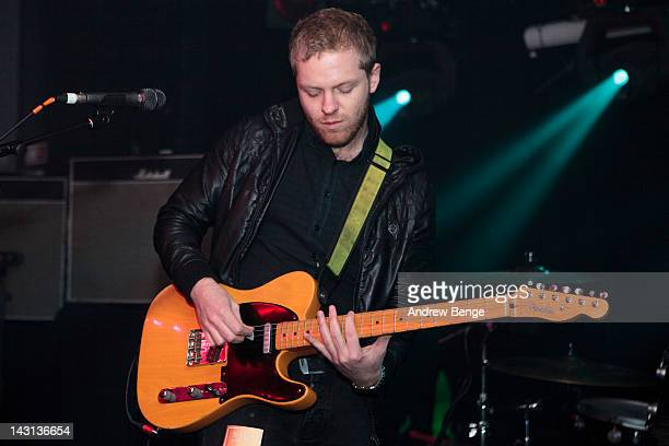 Craig Wellington of The Sunshine Underground performs on stage at O2 Academy on April 19, 2012 in Sheffield, United Kingdom.