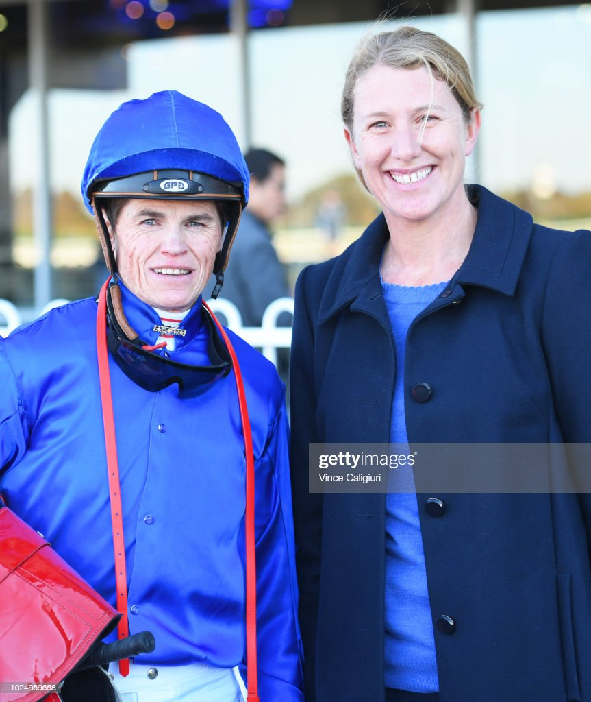 Craig Williams Poses With Godolphin Assistant Trainer Kate Grimwade News Photo Getty Images