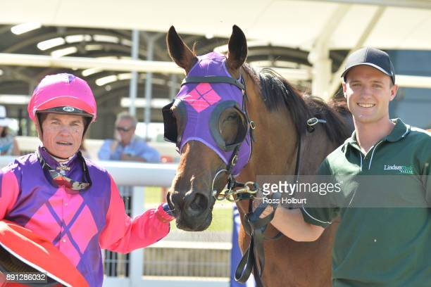 Craig Williams with Raindrops On Roses after winning the Highview Accounting Mornington Hcp at Mornington Racecourse on December 13 2017 in...