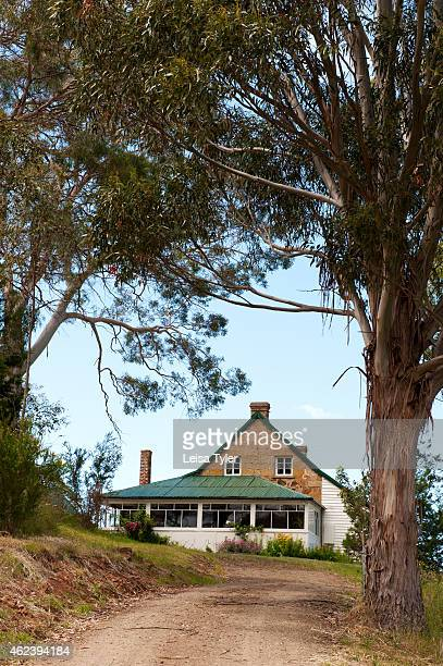 SWANSEA TASMANIA AUSTRALIA Craigie Knowe a 1842built stone farm house and vineyard converted into luxury villa accommodation in Swansea Tasmania...