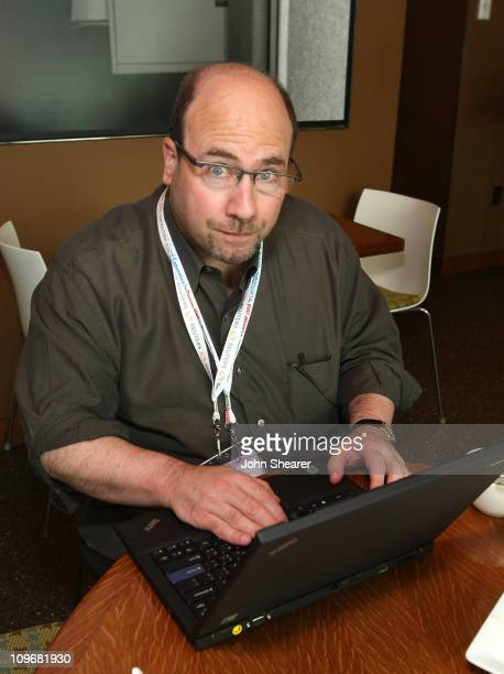 CraigsList founder Craig Newmark at the MySpace Cafe at the DNC in the Corner Office Restaurant on August 26 2008 in Denver Colorado