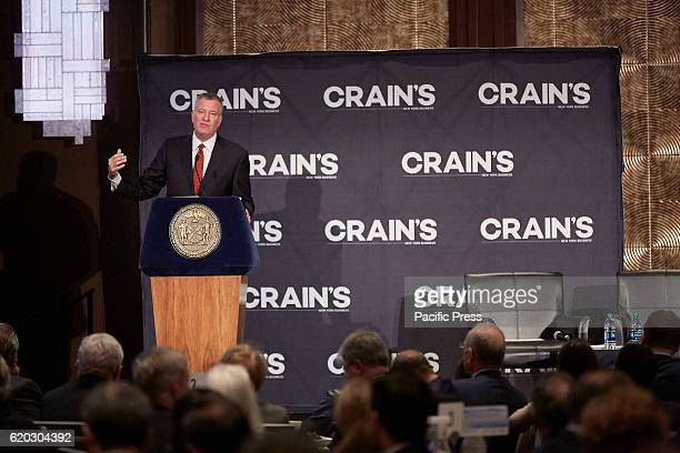 Crain's NY Getting ready for 9 Million New Yorkers Bill de Blasio 109th Mayor of New York City delivers remarks