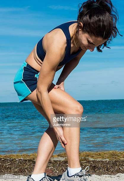 cramp in her calf