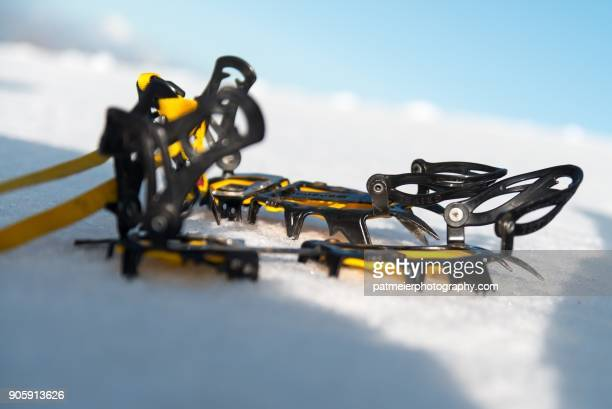 Crampons on ice - Sporting Equipment
