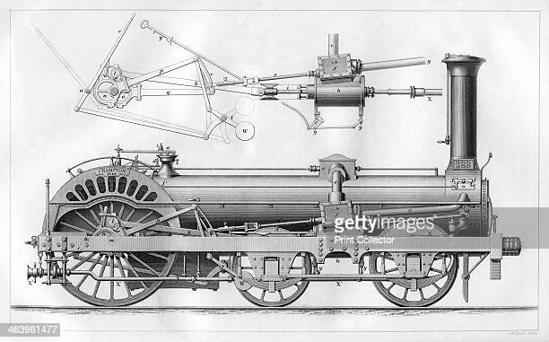 Crampton's railway locomotive engine 1866 The locomotive represented by this model was designed and built by Thomas Russell Crampton for the Northern...