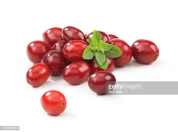 Cranberries with Leafs