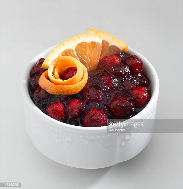 cranberry sauce - cranberry stock pictures, royalty-free photos & images