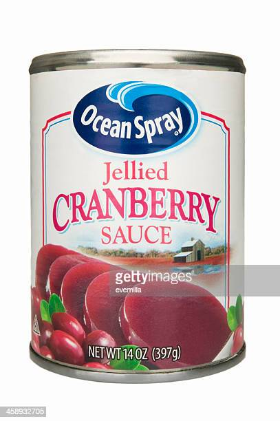 cranberry sauce - cranberry sauce stock photos and pictures