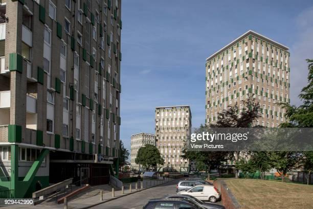 Cranbrook Estate in Tower Hamlets Cranbrook Estate Tower Hamlets United Kingdom Architect Berthold Lubetkin 1966