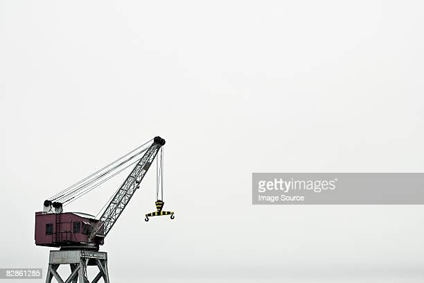 Crane at harbour