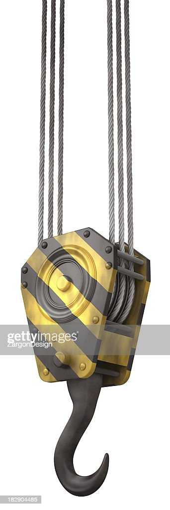 Crane hook : Stock Photo