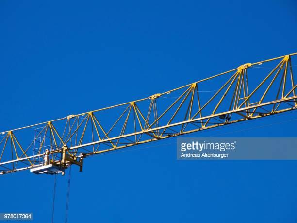 Crane jib detail